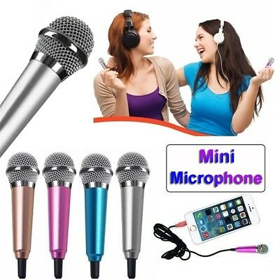 Karaoke Condenser Mini Microphone 3.5mm Wired For Computer Android Smartphones