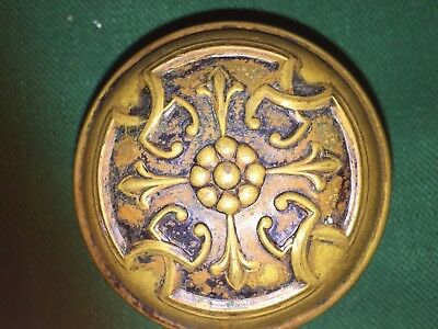 Antique Brass Or Bronze Victorian Doorknob