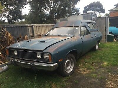 1977 Ford XC Falcon Panel Van GS 302 Rally Pack