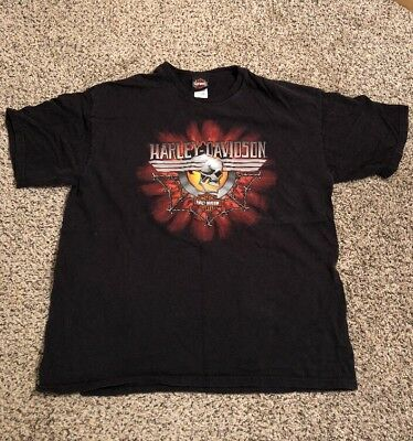 Harley Davidson Men/'s Two Wheels Find Your Freedom Short Sleeve T-Shirt R003024