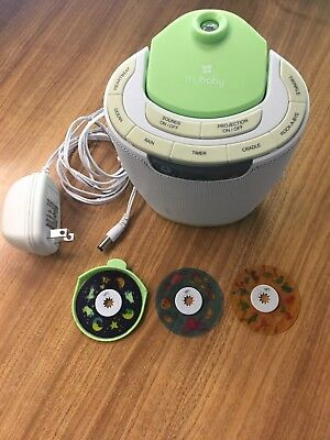 MyBaby Soundspa Lullaby Sound Machine & Projector, Auto-Off Timer Tested baby