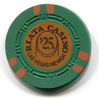 Las Vegas Nv RIATA $25 Casino Chip HCE 1973 CR#N2054 Low Bk $60