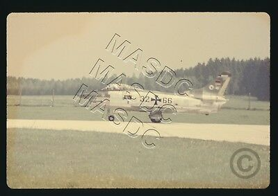 35mm Generic Aircraft Slide - Fiat G-91R-3 32+66 Dornier Test Aircraft - July 70