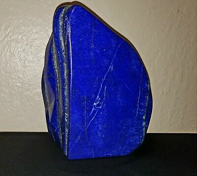 """Ami: Superb 6-1/4"""" Lapis Lazuli from Afghanistan Full Polished 5 lb 6 Ounces"""