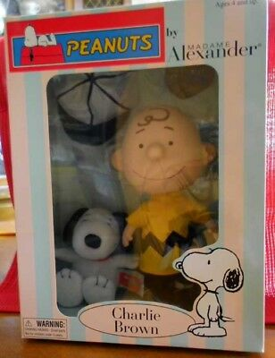 Peanuts by Madame Alexander Charlie Brown and Snoopy - New