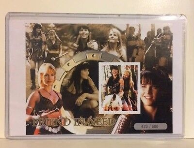 Xena Stamp Sheet Friend In Need 423/500