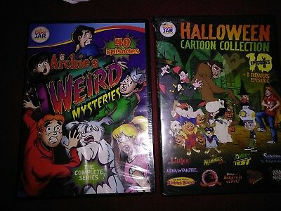DVD HALLOWEEN Riverdale Classics Movie Archies Weird Mysteries Complete Series