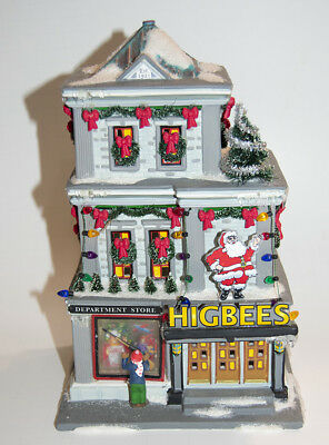dept 56 2005 a christmas story higbees department store lighted village holiday - A Christmas Story Village