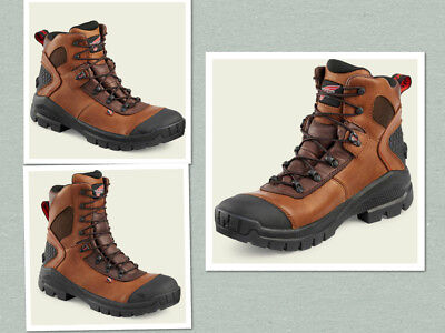 3233d0cddcc RED WING 436 438 2436 MEN'S Electrical Hazard Waterproof Safety Boots 6