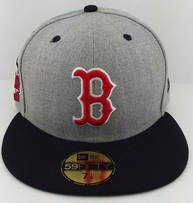 1940687900f NEW ERA BOSTON Red Sox Fitted Hat Cap 2004 World Series Side Patch ...