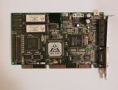 Orchid SoundWave 32 ISA Sound Card - Sound Wave 32 AD1848KP - RARE