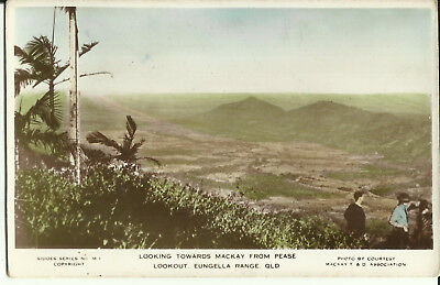 Australia Postcard - Looking Towards Mackay from Pease Lookout, Qld, Australia