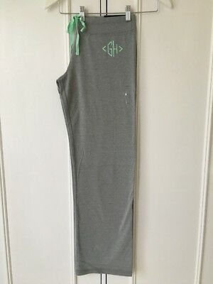 Gilly Hicks Lounge Fit Graphic Sweatpants in 'Grey' (M) (RRP £44) Rare. 32% Disc