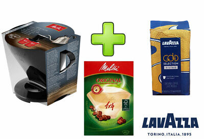 Melitta Pour Over 1-4 Filter Cone,Filters & Lavazza Filter Coffee Discount Offer
