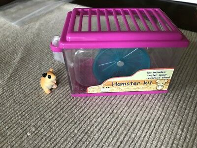 """18"""" doll hamster cage pet kit wheel water for Our Generation American Girl"""