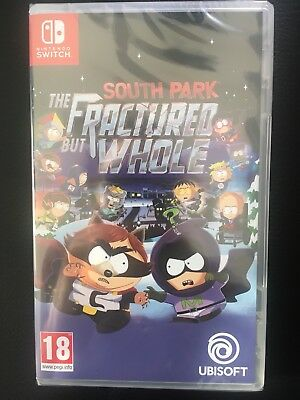 South Park The Fractured But Whole Nintendo Switch *New & Sealed*