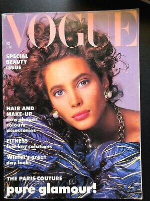 VOGUE MAGAZINE 1986 OCTOBER  Free giftwrap  Fast Dispatch