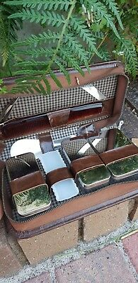 Vintage Mens Grooming Shaving Kit West Germany