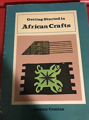 ' Getting Started In African Crafts' 1971 Book By Jeremy Comins