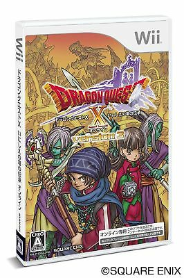 UsedGame Wii DRAGON QUEST X ONLINE VERSION3 Dragon lore of ancient Wii Japan