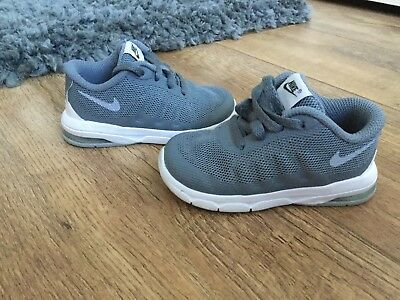 Excellent Condition Baby Boys Nike Air Trainers Size Infant 5.5