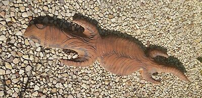Aboriginal Art Carved Gecko Medium