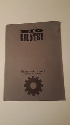 Big Country - Town & Country Colour Book Tour Programme 1984/85