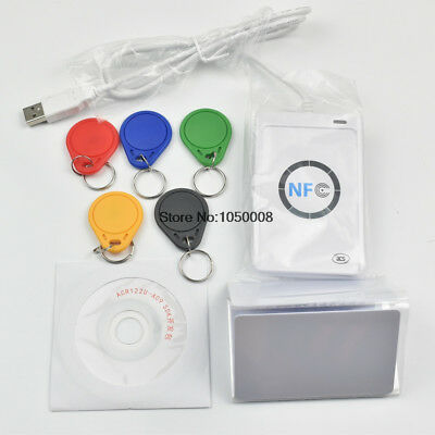 Reader Writer 13.56Mhz RFID Copier Duplicator 5pcs UID Card  5pcs UID Tag SDK