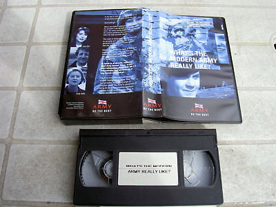 British Army Be The Best, Vhs-Video !!!