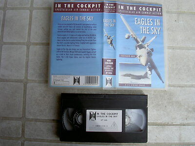 AIR FORCE EAGLES IN THE SKY VHS-VIDEO(1995), (ca.60Min.)