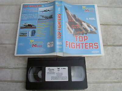 AIR FORCE TOP FIGHTERS VHS-VIDEO(1989),(TEIL 2), (ca.50Min.)