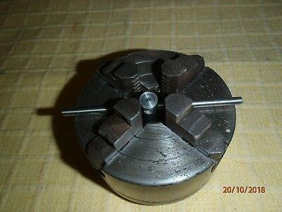 Small Four Jaw Lathe Chuck