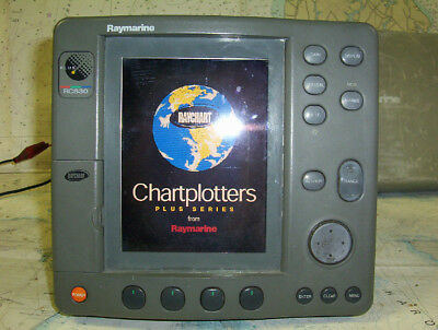 Boaters' Resale Shop of TX 1708 1271.01 RAYMARINE RC530 GPS/PLOTTER DISPLAY ONLY