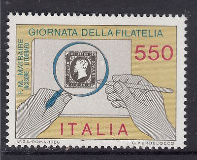 ITALY 1986 SG 1953 Stamp Day MUH