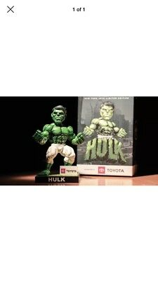 2018 New Yoke Jets Incredible Hulk Banner Bobblehead Marvel Sga Nfl Darnold Rare