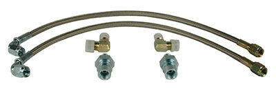 "WILWOOD 220-7010 14""-3 BRAKE LINE KIT for Subaru WRX Rear #6653"