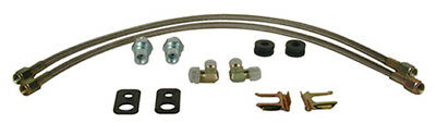 "WILWOOD 220-7009 18""-3 BRAKE LINE KIT for Subaru WRX Front #6654"