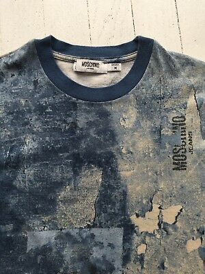 0a23f5b23ef7 T SHIRT HOMME MOSCHINO ML. Taille M - EUR 10,00   PicClick FR