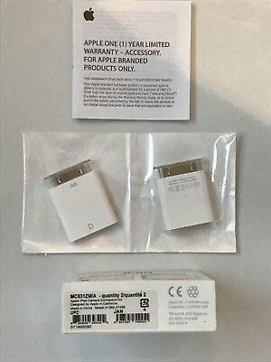 Apple iPad Camera Connection Kit / MC531ZM/A / 30 polig / gebraucht / in OVP TOP