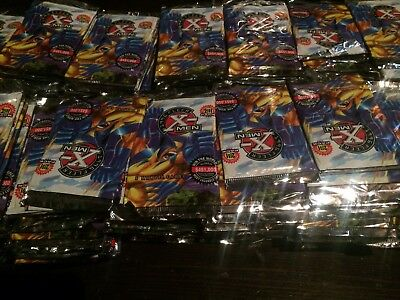 200 Brand New Sealed Packs 1996 Fleer X-Men Free Shipping. Thousands Available.