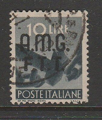 TRIESTE 1947 10L Allied Military Government (Roma) #