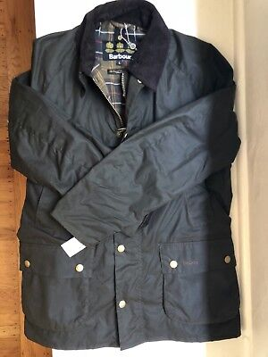 Nwt Men S Barbour Ashby Wax Jacket Size Large Olive 285 00 Picclick