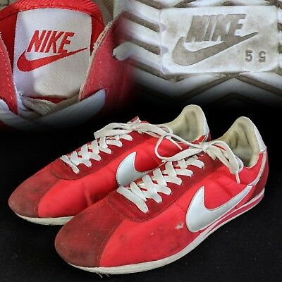 ab7b33c29a53 VINTAGE 1970S NIKE Cortez Nylon Running Shoes Sneakers -  49.99 ...