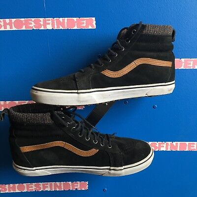 023d9370d0 Top Shoes Mens Black 13 Vans High The Off Sneakers Suede Wall Lace  IfwnfOF7qv