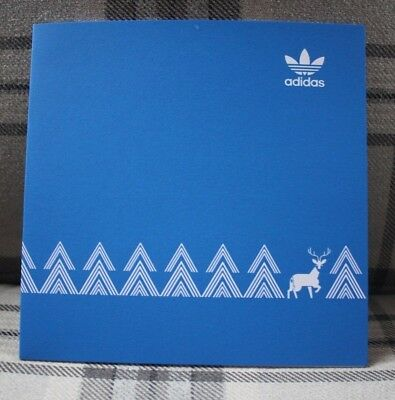 Adidas Originals Christmas Card Limited Edition Rare Collectable 1/2000