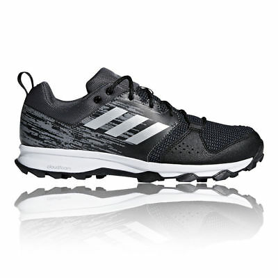 Adidas Galaxy Trail Running Shoes Mens Brand New Black Trainers-Size 8