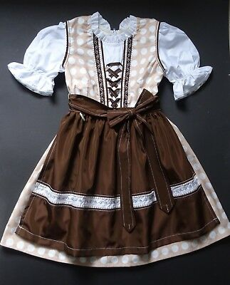SALE NEW GERMAN Austrian Girls Dirndl Dress 5-6 years e719ccbd34