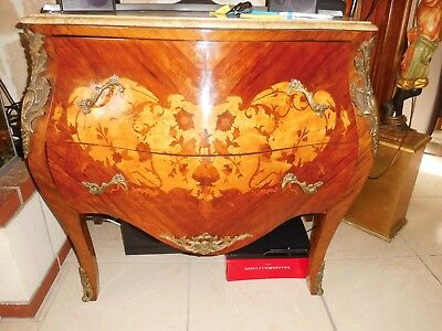 commode en marqueterie