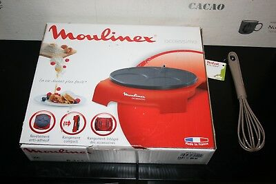 crepiere Moulinex PY312511 CREP'PARTY neuf + cado tefal