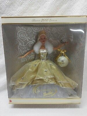 New Celebration Barbie Special 2000 Edition Holiday Barbie Doll